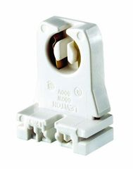 Portalamparas fluorescente t8 y t12 color blanco leviton