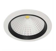 Luminario smd led para empotrar en techo 9 7w acabado blanco negro incluye driver 100 240v