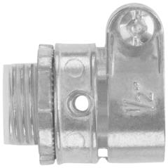 Conector recto para conduit metalico flexible plica en zinc de 1 2 eaton