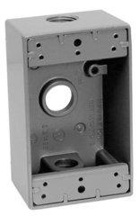 Caja rectangular 3 entradas de aluminio para uso intemperie de 3 4 eaton